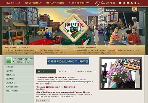 Joplin Missouri Website