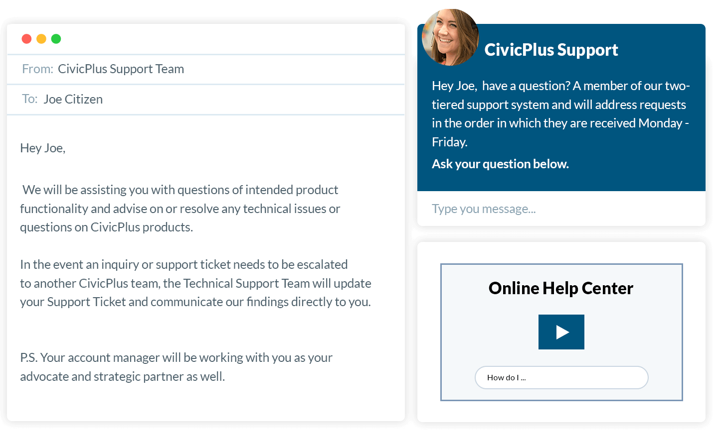 CivicPlus Support Team