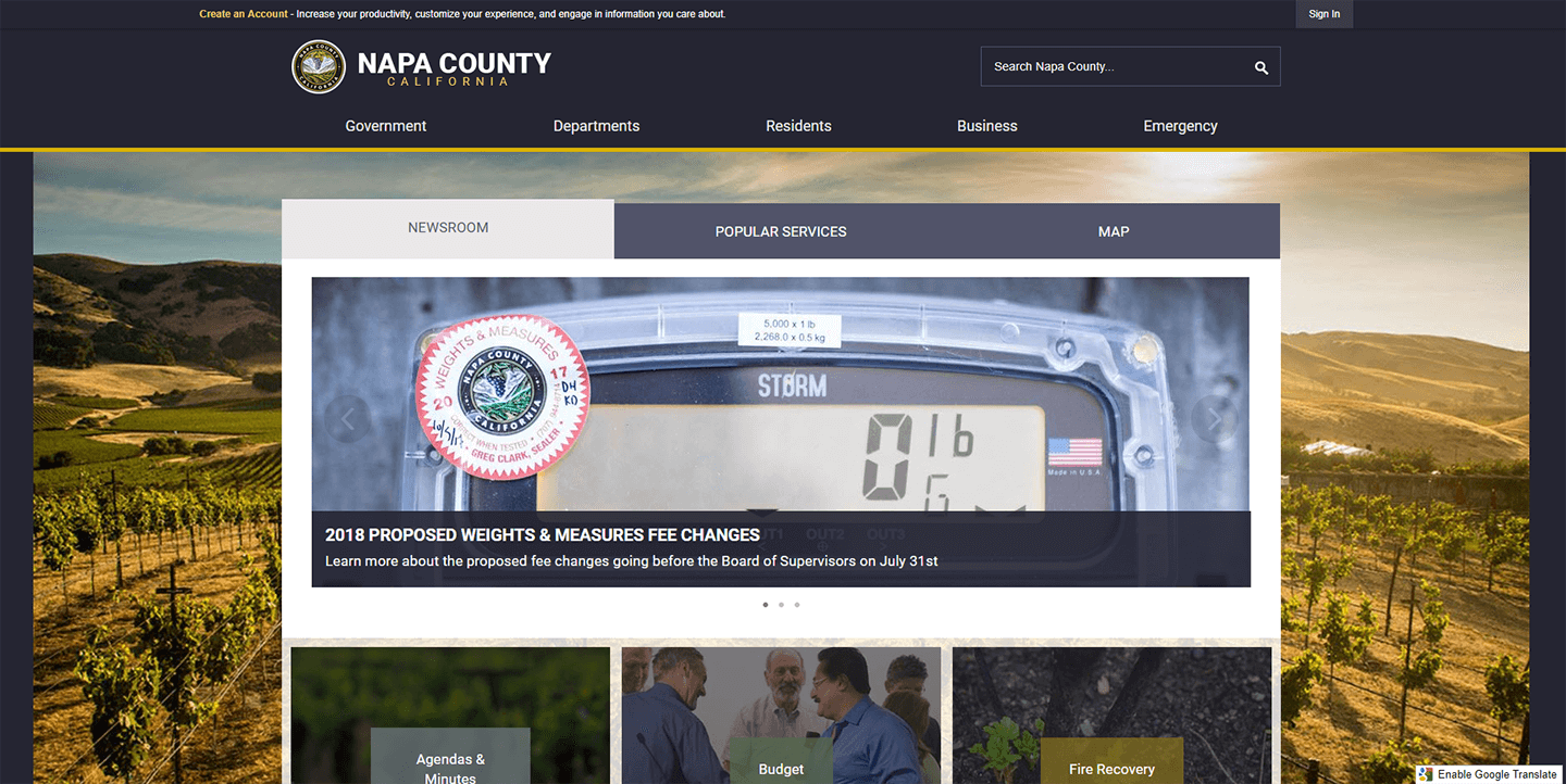 Napa_County_CA_2018_Digital_Counties_Award_Winner