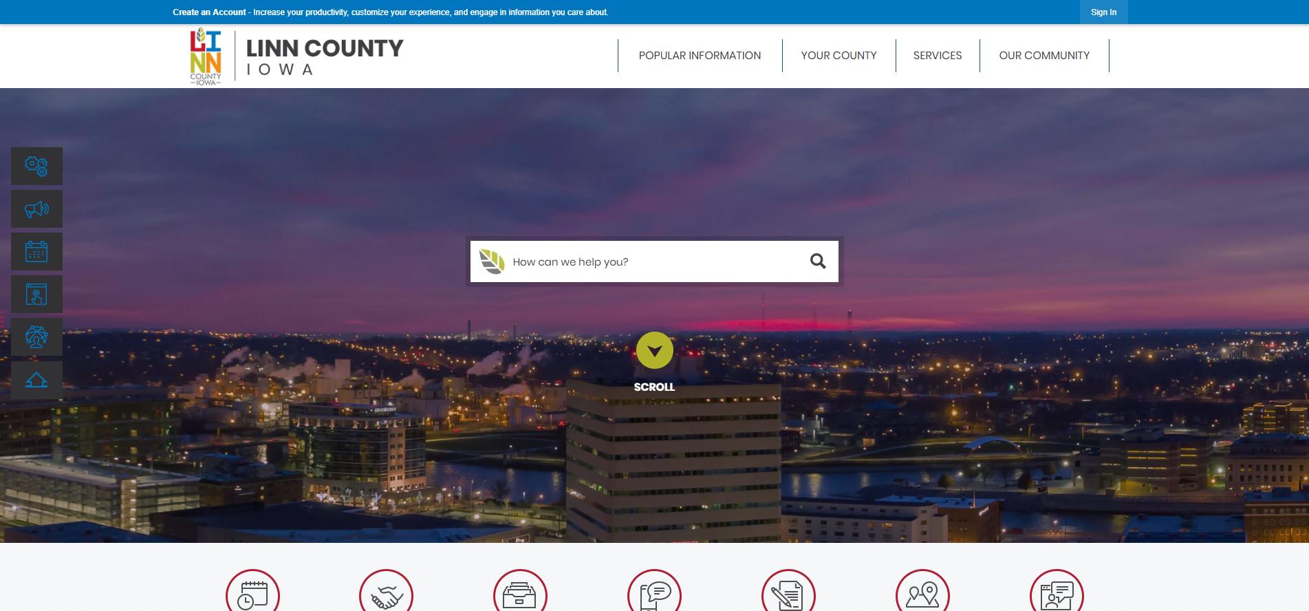 3CMA_Digital_Interactive_Website_Award_West_Linn_County_IA