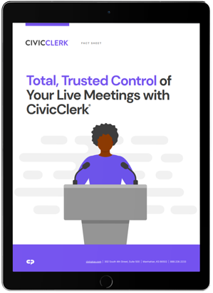CivicClerk_live meeting manager_ipad_image
