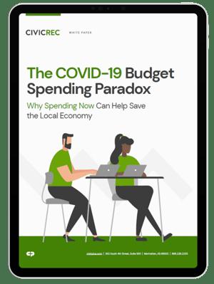 CivicRec Budget Spending Paradox Image