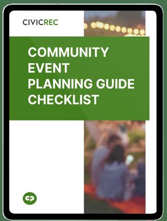 CivicRec_Community Event Planning Guide_LP image