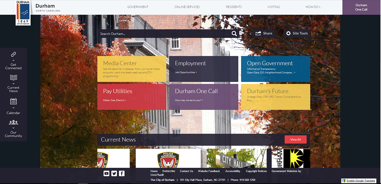 Best of the Web Award Finalist Durham CA CivicPlus Government Website_Award.png
