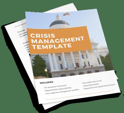 Crisis management template flyer image-1