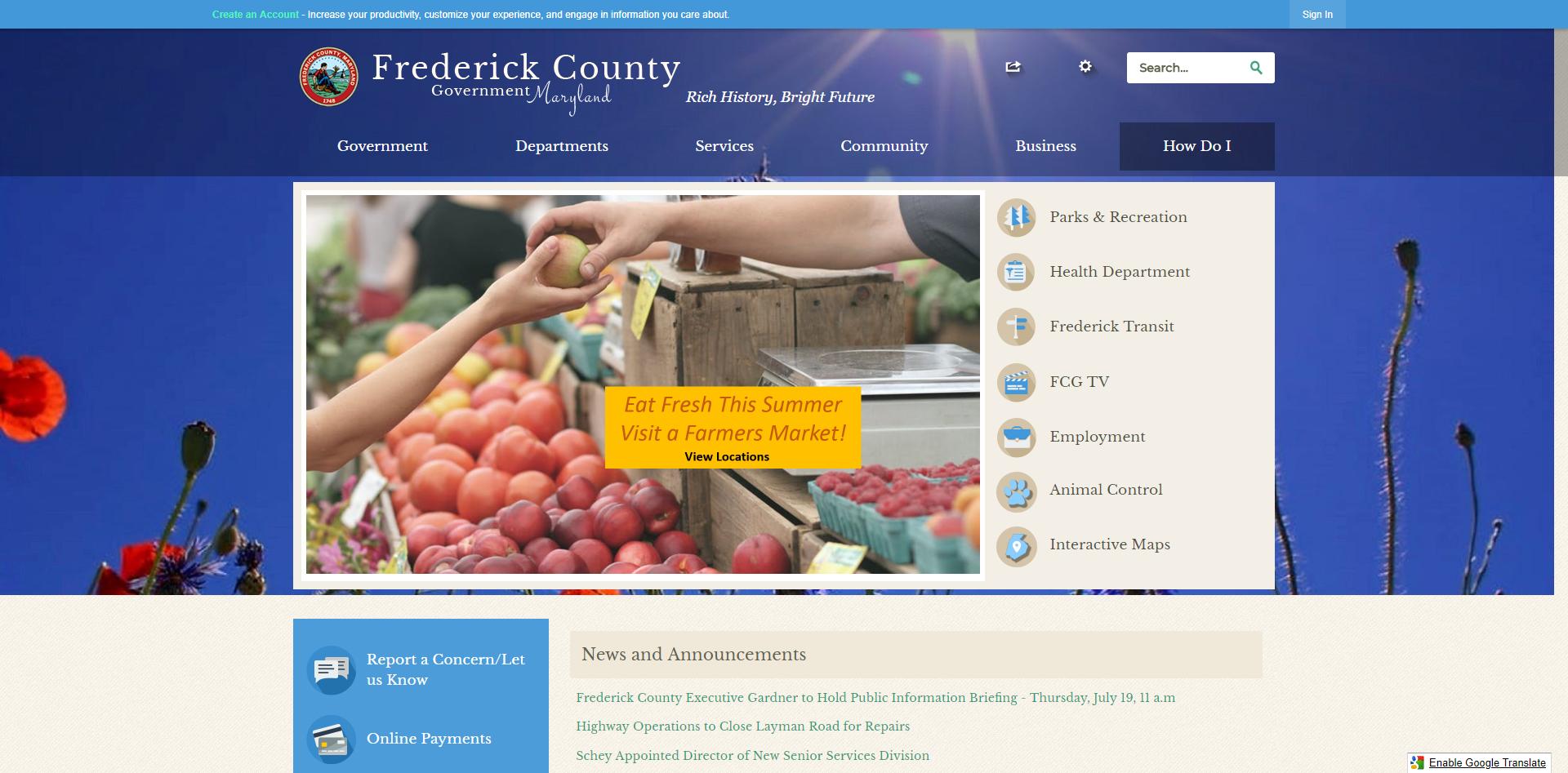 Frederick_County_MD_2018_Digital_Counties_Award_Winner