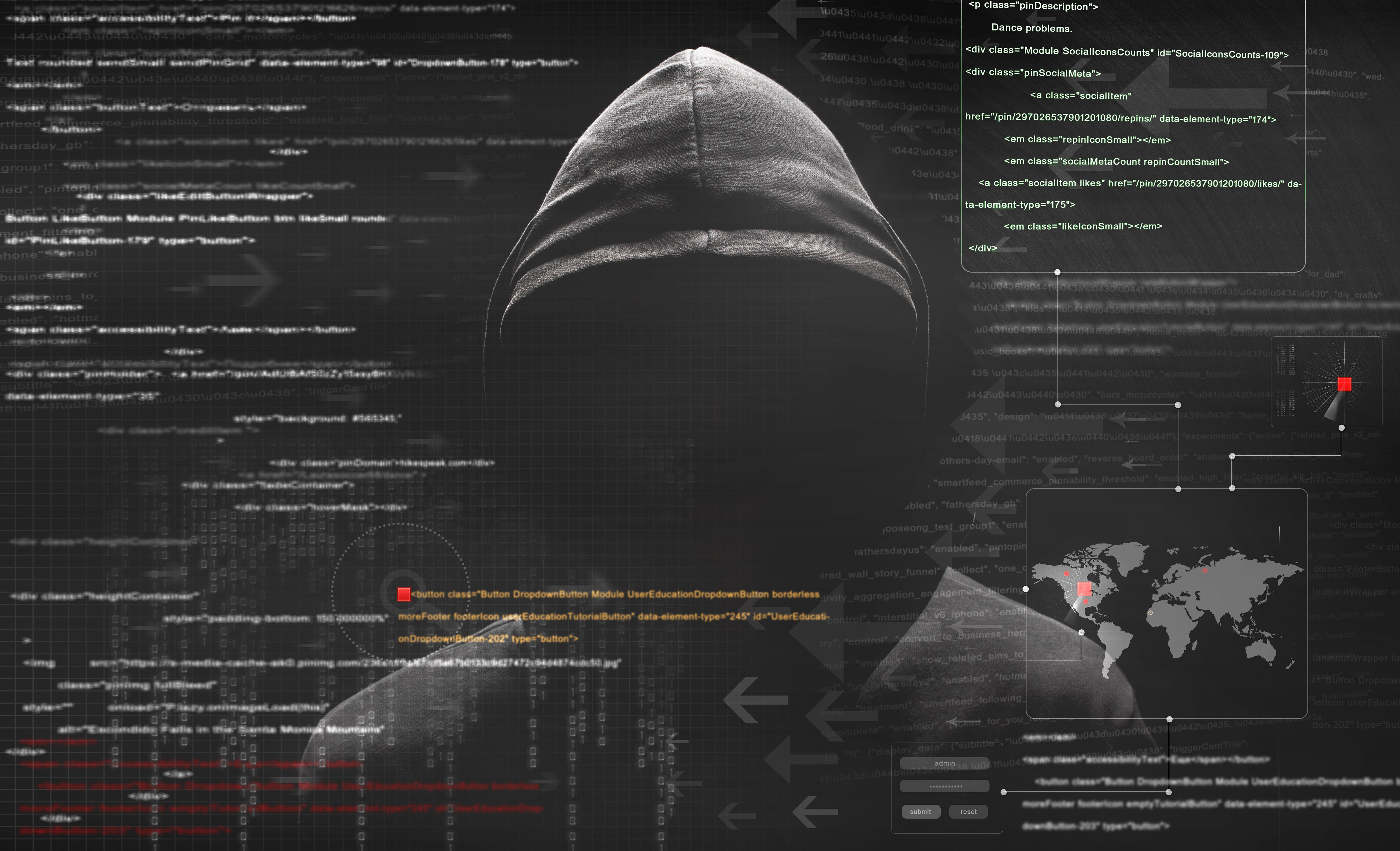 Hacker-Cyber-Attack