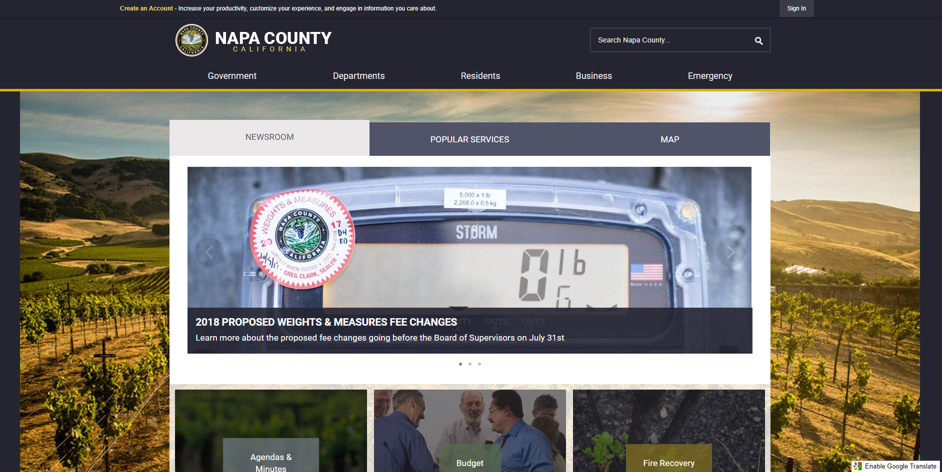 Napa_County_CA_2018_Digital_Counties_Award_Winner
