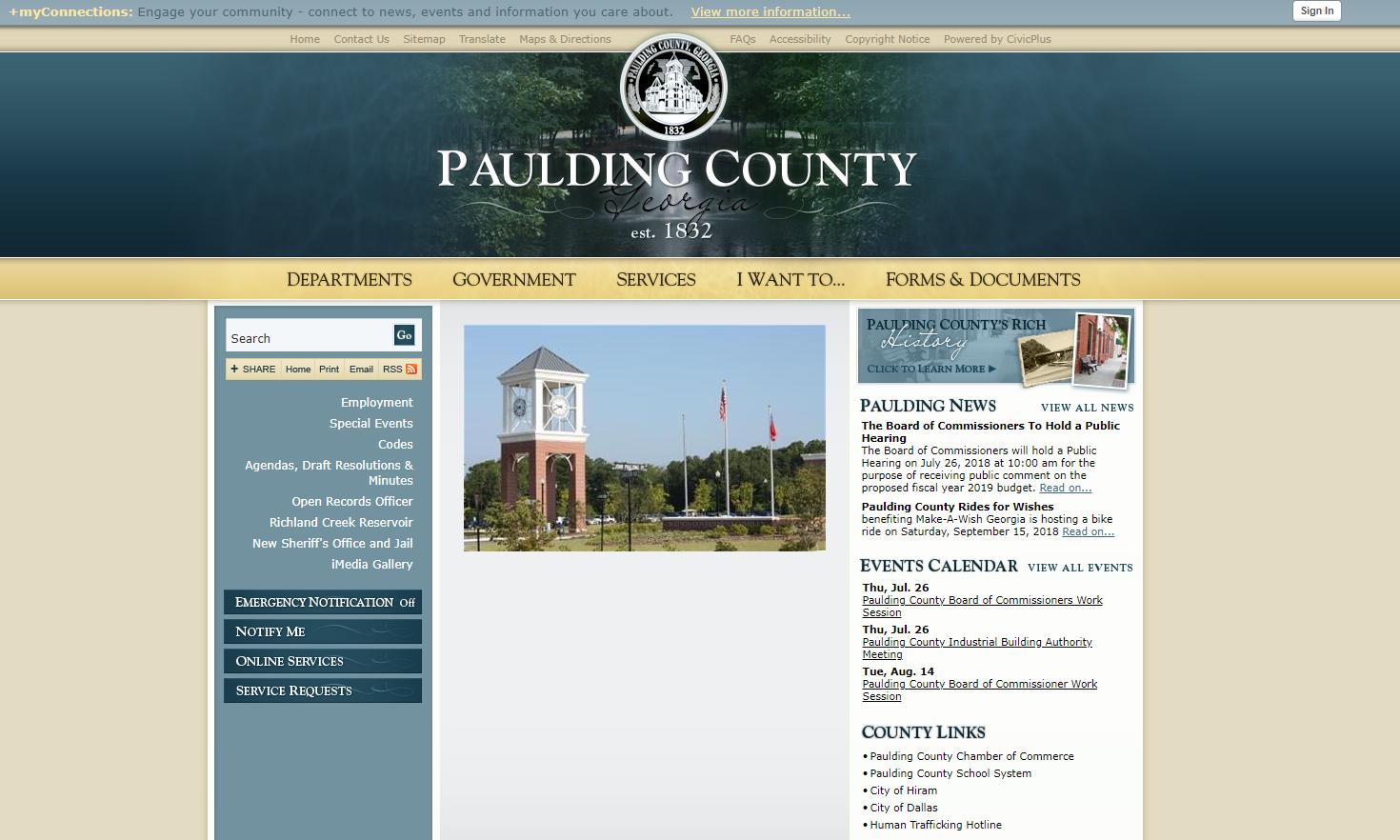 Paulding_County_GA_2018_Digital_Counties_Award_Winner