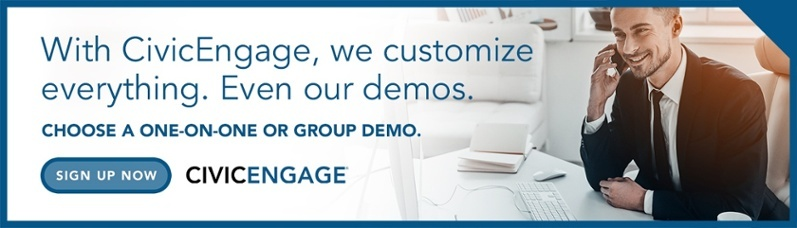 Sign up for a demonstration of CivicEngage