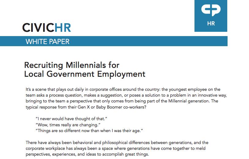 How to Recruit Millennials