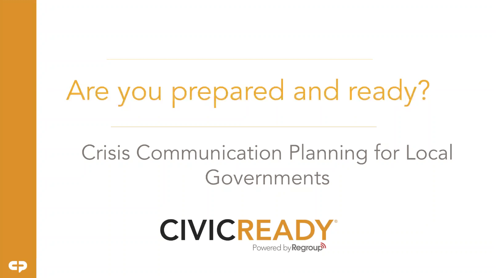Crisis Communication Planning For Local Governments