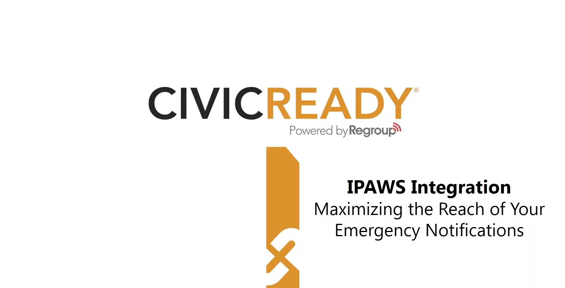 Harness the Life Saving Power of IPAWS