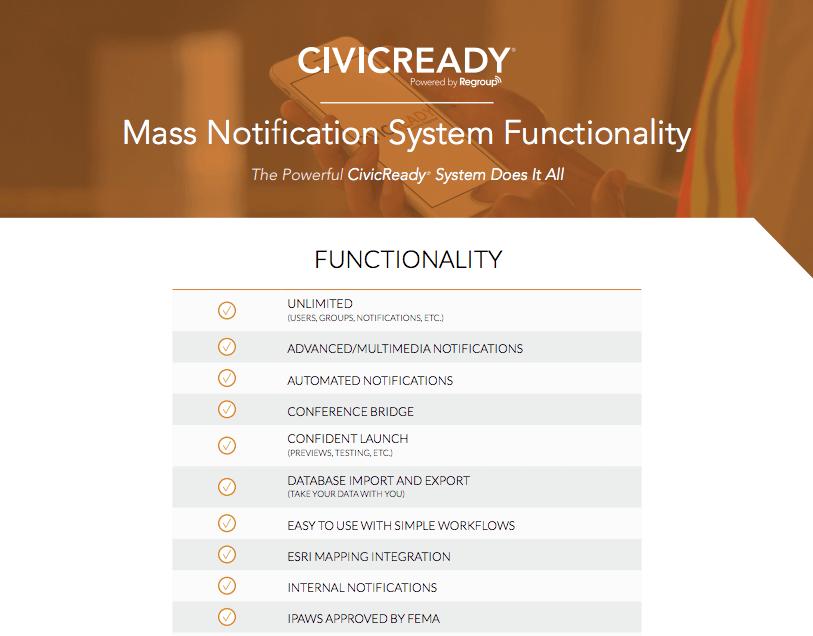 Functionality Chart