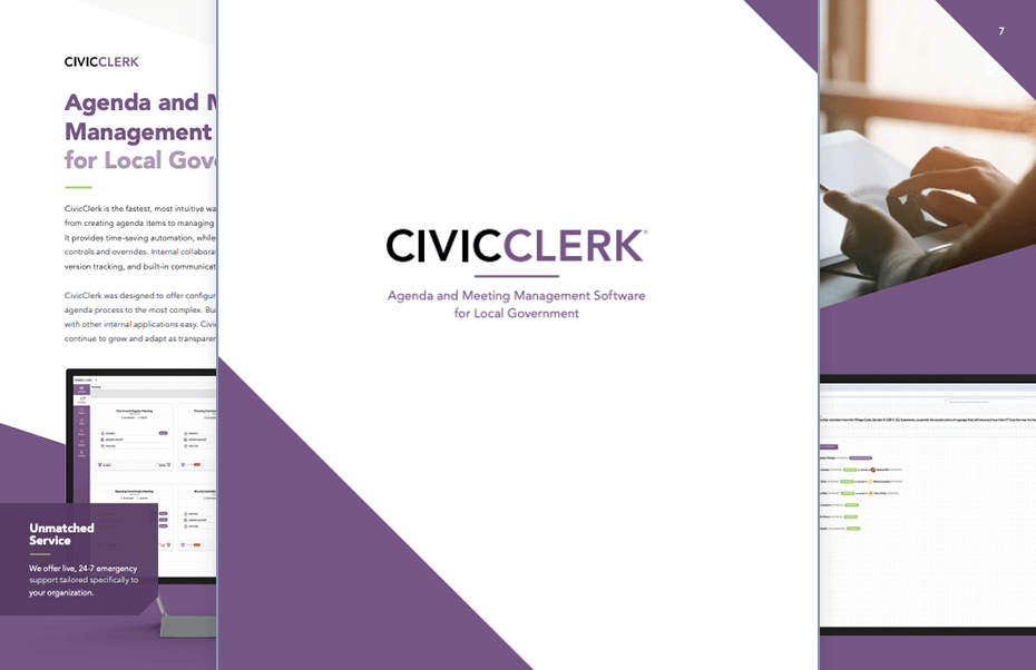 clerk-product-brochure-spread