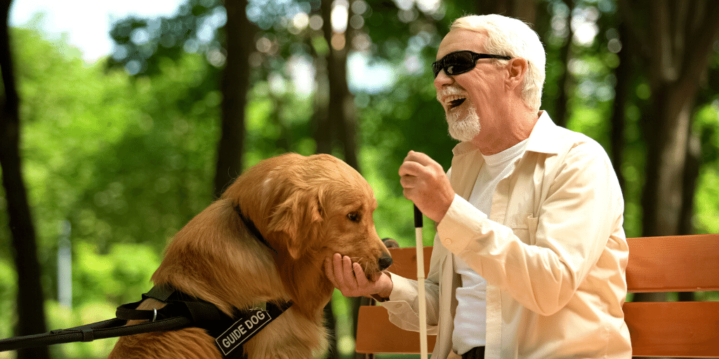 Parks and Rec Activities for Those With Visual and Auditory Impairments
