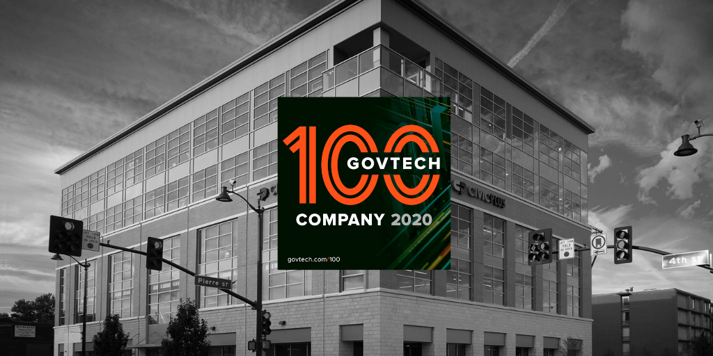 [Updated] CivicPlus Recognized as GovTech 100 Company for 2020