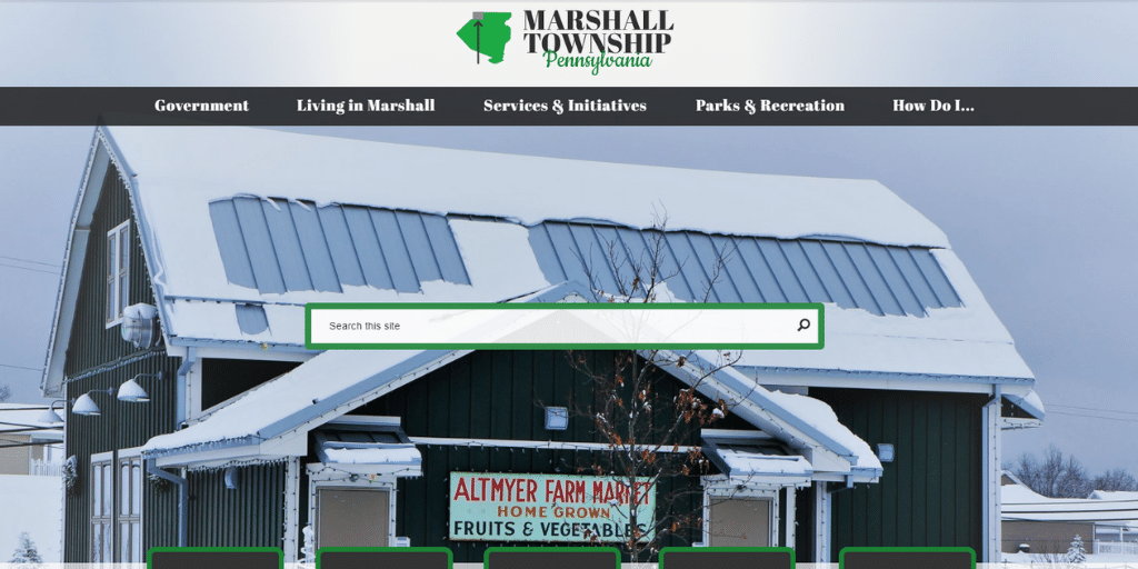 Marshall Township, PA Parks and Recreation