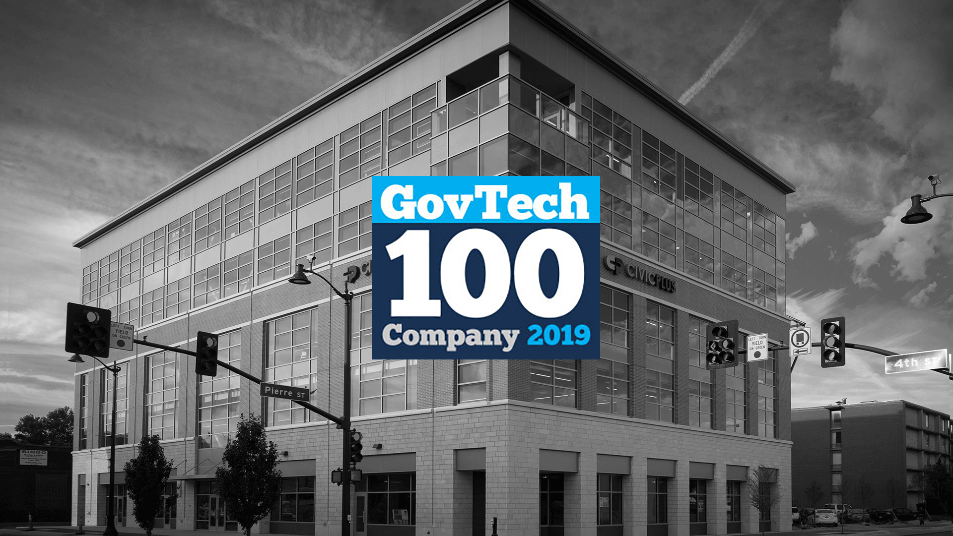 [Updated] CivicPlus Recognized as GovTech 100 Company for 2019