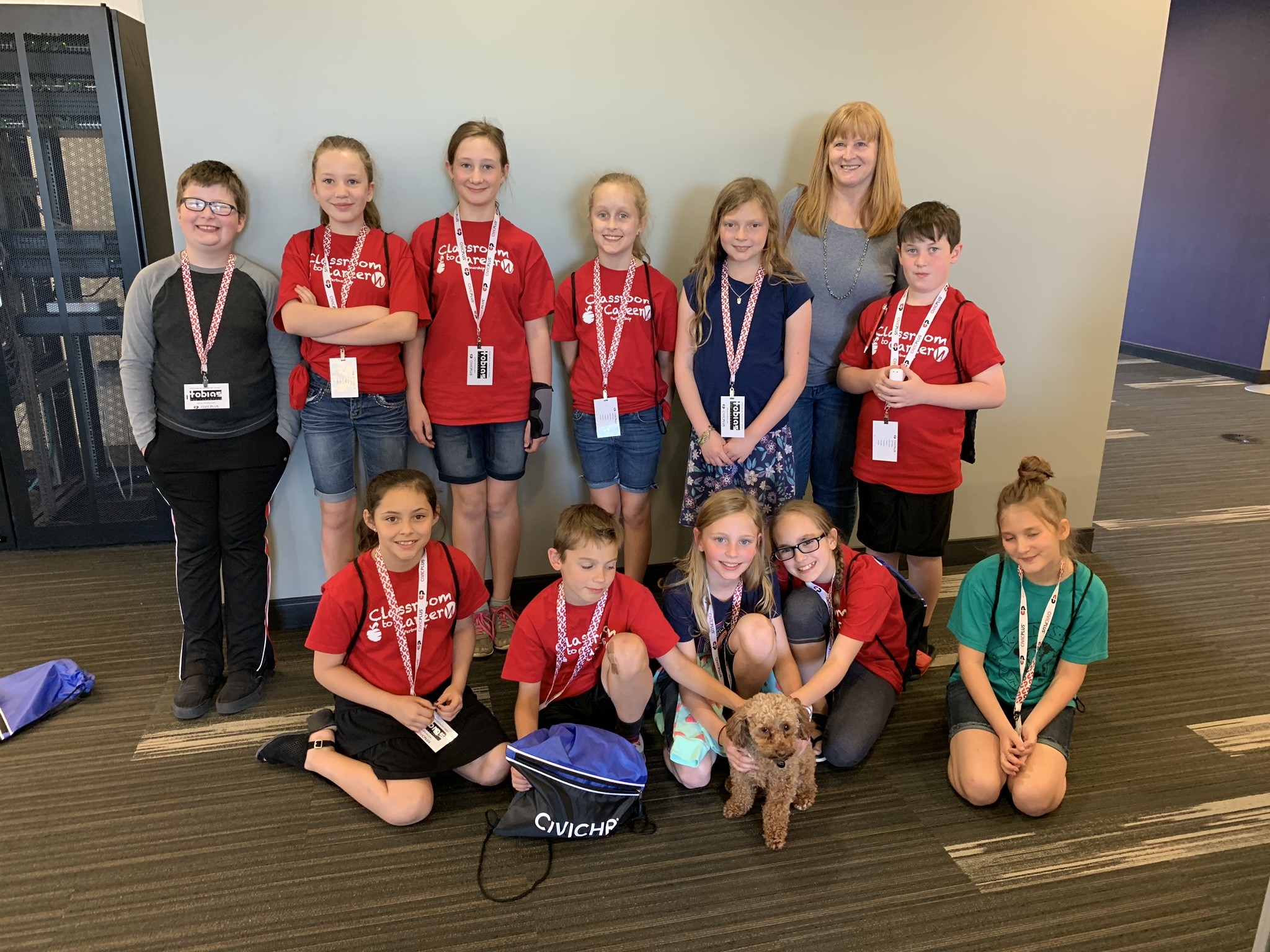 CivicPlus® Hosts Local Fourth Grade Career Sponsorship Class, Celebrates Website Launch