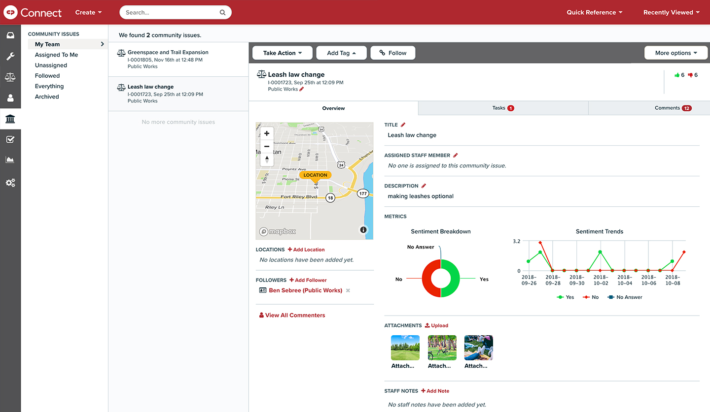 Monitor Community Issues and Address Trends