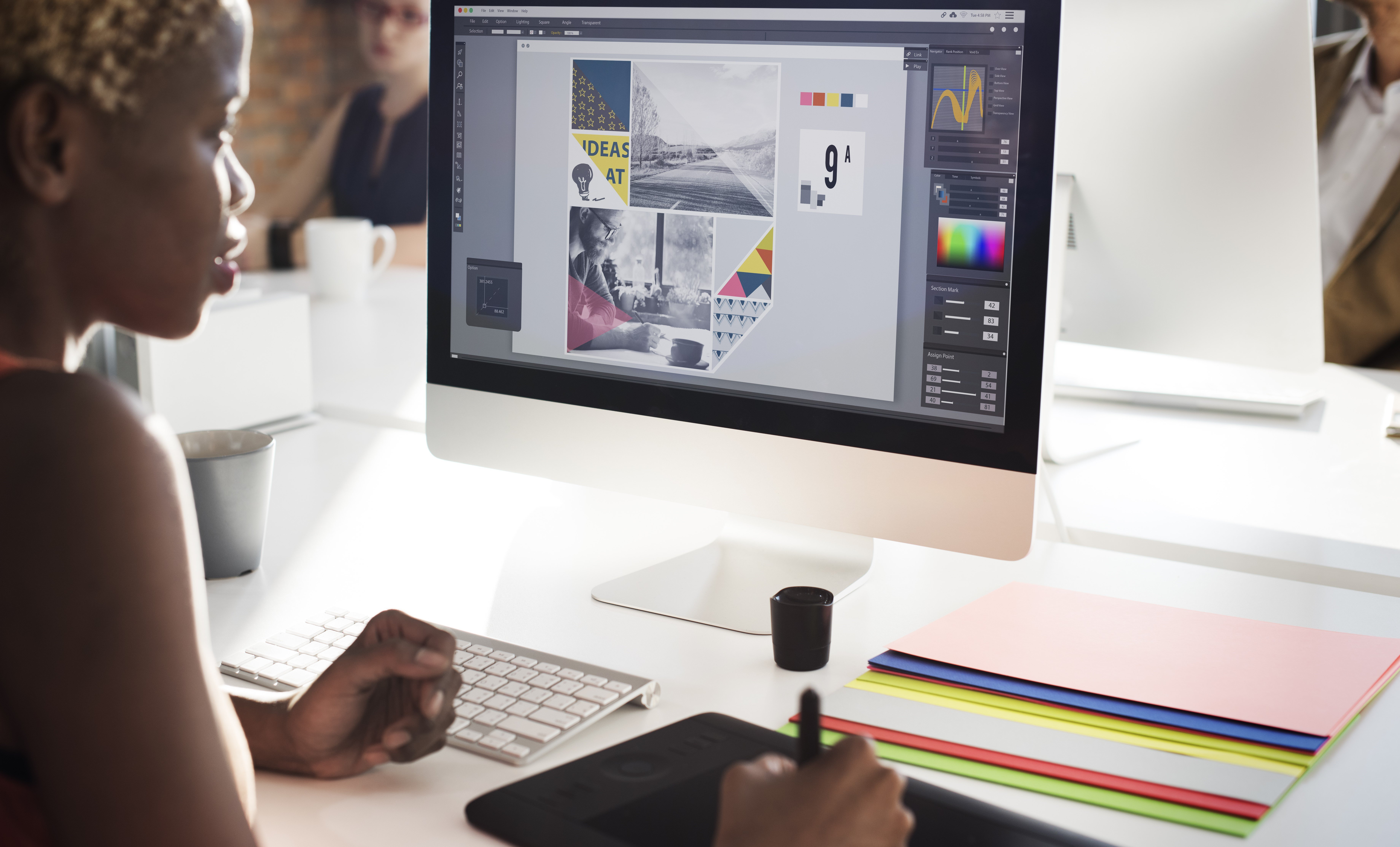 graphic design email image