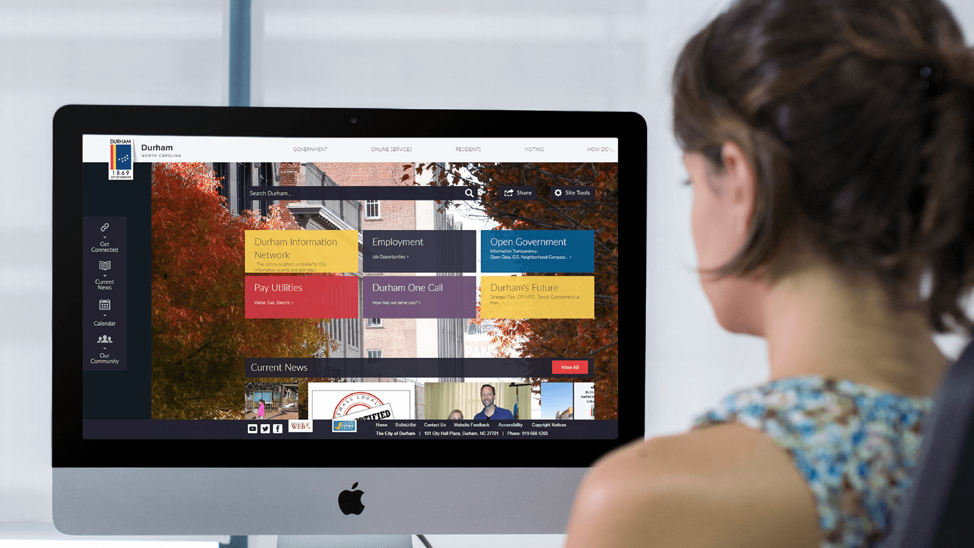 Durham Nc Turns To Civicplus For Government Website Design Consulting